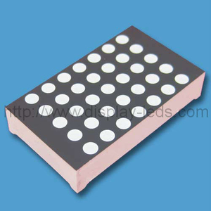 1.2 inch 5x7 bi color LED dot matrix
