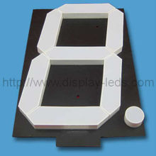 16 Inch LED 7 Segment Display