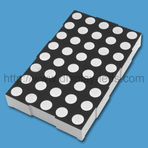 2.3 inch 5x8 Bi Color LED Dot Matrix
