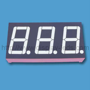 0.56'' 3 digit numeric led Display