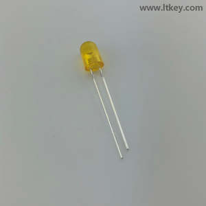 Amber 5-mm Oval LED
