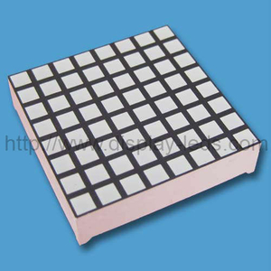 1.2 inch 8x8 Dual Color LED Square Dot Matrix
