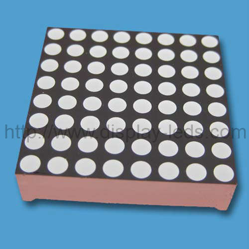 1.2 inch 8x8 single color LED Dot Matrix