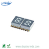 0.2 Inch Dual Digit 7 Segment SMD Display