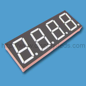 0.8'' four Digits numeric led display with common pin 6, 8, 9 and 12