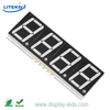 0.56 Inch Four Digit 7 segment SMD Display with Gray face