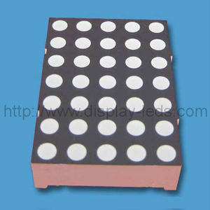 1.20'' (30 mm) 5x7 bi color dot matrix LED display