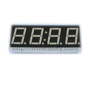 0.56'' 4 Digits 7 segment clock led display