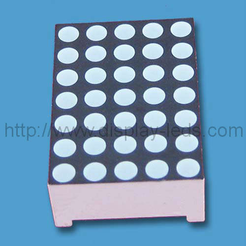 0.7 inch 5x7 dual color LED Dot Matrix