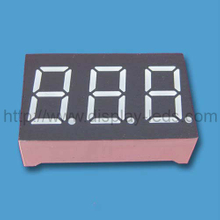 0.36 Inch three Digits 7 Segment LED Display