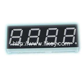 0.52 inch 4 digits 7 segment Display