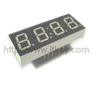 0.56 Inch 4 Digits 7 segment led display clock