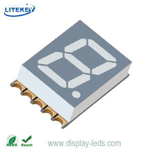 0.39 Inch Single Digit 7 Segment SMD Display