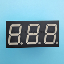 LD3031A/B Series - 0.3 inch 7 segment triple digit LED display