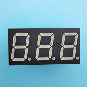 LD4031A/B Series - 0.4 inch 7 segment 3 digit LED display